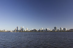 Perth skyline Royalty Free Stock Photos