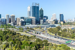 Perth Skyline Stock Photography