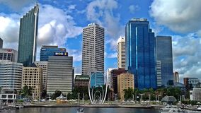 Perth skyline, westrern Australia. stock photography
