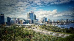 Perth stad arkivfoton
