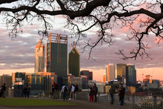 Perth-Stadt Stockfoto