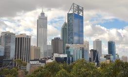 Perth-Stadtbild, West-Australien Stockbild