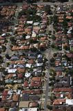 Perth Suburb. Aerial view of a Perth Suburb, Western Australia royalty free stock photos
