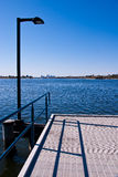 Perth Swan River jetty Stock Photography