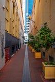 Perth vänder mot elevatorn arkivfoton
