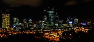 Perth västra Australien horisont Royaltyfria Bilder