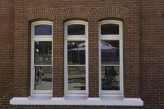Perth västra Australien/Australien - 01/20/2013: Perth institut av samtidaa konster, PICAbyggnad Royaltyfria Foton