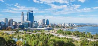 Perth view at the noon Royalty Free Stock Photos
