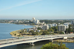 Perth. Viiew of perth-capital of western australia Royalty Free Stock Photos