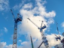 Elizabeth Quay in Perth WA is a busy site for new buildings being erectedDescription stock images