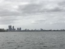 Perth from the water. A view of Perth from the water Stock Image
