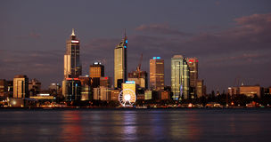 Perth, Western Australia. Night view of Perth, Western Australia Stock Photography
