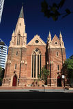Perth,Western Australia. In the city of Perth View of the old church of St. Andrew in ST. Georges street,Western Australia stock photo