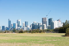 Perth Western Australia from Heirisson Island Stock Photography