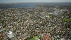 Perth widok z lotu ptaka zdjęcie wideo