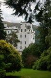 Perthshire, Reino Unido - 20 de agosto de 2016: Blair Atholl Castle em Perthsire, residência anterior do duque de Atholl fotografia de stock royalty free