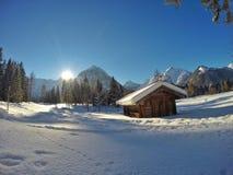 Pertisau, Karwendeltal in den Alpen in Tirol, Österreich Lizenzfreie Stockfotos