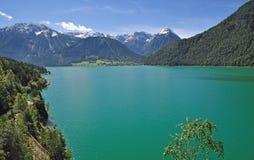 Pertisau, lago Achensee, Tirolo, Austria Fotografia Stock Libera da Diritti