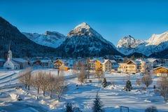 Pertisau wioska przy Alps w Tyrol, Austria Zdjęcia Stock