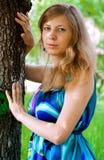 Perto da árvore Imagem de Stock Royalty Free