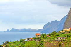 Perto de Faial, no norte de Madeira Foto de Stock Royalty Free