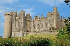 Perto do castelo Imagem de Stock Royalty Free