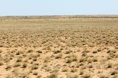 Perto do deserto Deserto Fotografia de Stock