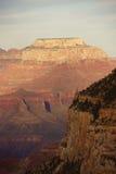 Perto do ponto de Maricopa, opinião do fim da tarde no Rio Colorado Imagem de Stock