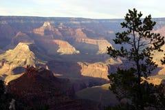 Perto do ponto de Maricopa, opinião do fim da tarde no Rio Colorado Imagem de Stock Royalty Free