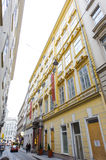 Pertschy Palais Hotel on the  Habsburgergasse street in the cent Royalty Free Stock Photos