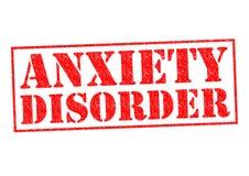 Perturbação da ansiedade Fotografia de Stock