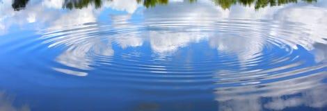 Perturbation d'ondulation de fond Photo libre de droits