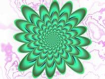 Perturbed spirals Stock Image