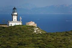 Pertusato lighthouse Royalty Free Stock Photo