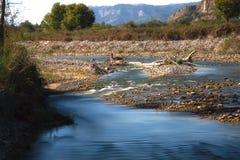Pertusillo Lake Royalty Free Stock Photo