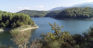 Pertusillo lake Stock Image