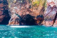 Peru, Ameryka Południowa, wybrzeże przy Paracas Krajową rezerwacją, Peruwiański Galapagos Zdjęcie Royalty Free