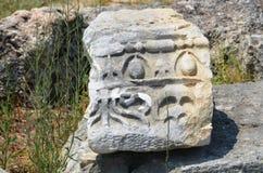 peru antigo de antalya do império romano, perge, etiquetas especiais Fotografia de Stock Royalty Free