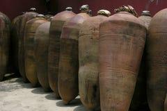 Peru barricas pisco Fotografia Royalty Free
