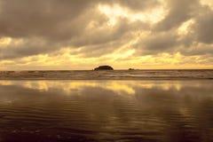 Peruíbe beach Stock Photography
