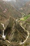 Peru, Canion Cotahuasi Stock Foto