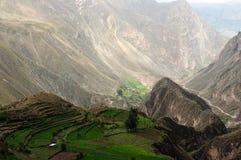 Peru, Canion Cotahuasi Royalty-vrije Stock Foto