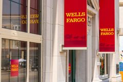 Peru - Circa August 2018: A Wells Fargo Retail Bank Branch. Wells Fargo may have accidentally foreclosed 400 homes VI