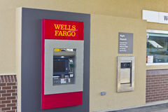 Peru, IN - Circa March 2016: A Wells Fargo Retail Bank Branch III Stock Image