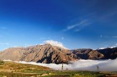 Peru, Colca-Canion Stock Foto's