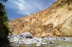 Peru, Colca-Canion Royalty-vrije Stock Afbeeldingen
