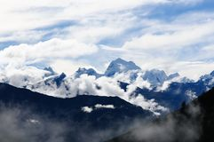Peru, Cordillera Huayhuash w Peru Obraz Stock