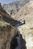 Peru, Cotahuasi canyon. The wolds deepest canyon. Royalty Free Stock Photography