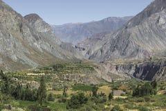 Peru, Cotahuasi canyon. The wolds deepest canyon. Stock Photo