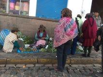 Peru - Cusco Royalty Free Stock Photo